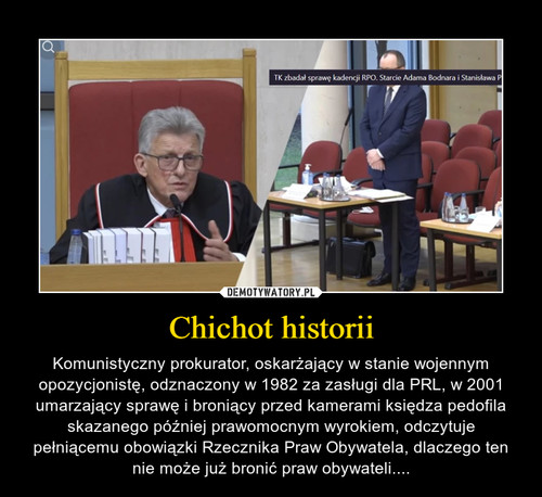 Chichot historii