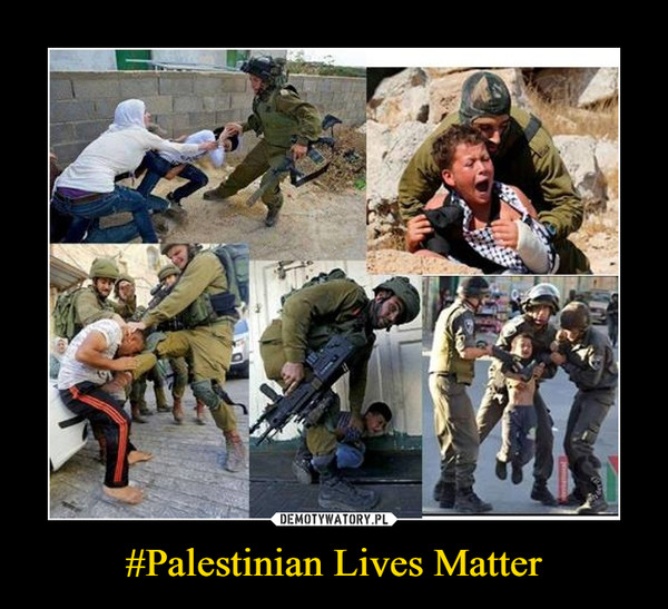 #Palestinian Lives Matter –