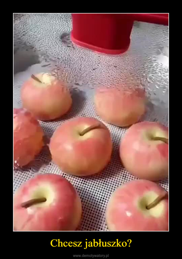 Chcesz jabłuszko? –